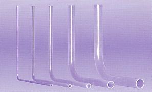 PFA angle pipe tubes